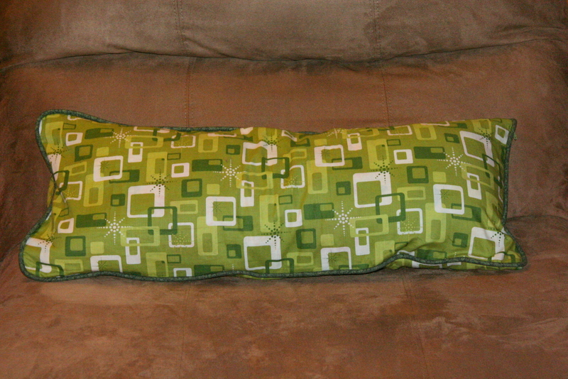 Green cushion - finally!