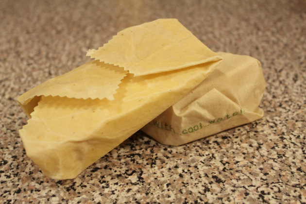 Beeswax food wrap - cheese