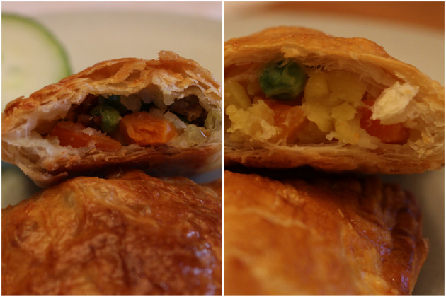 Samosa innards (beef and veg)